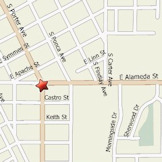 Map of 603 Classen Blvd Norman, OK 73071-5007, US